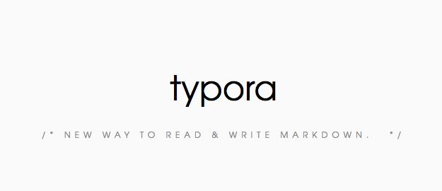 Typoraのサイトのスクリーンショット